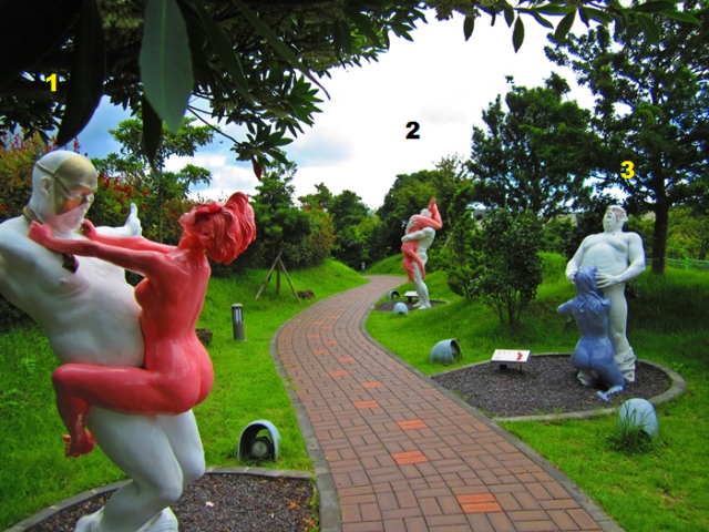 3 sculpture jeju loveland