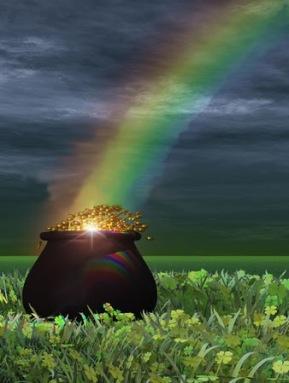 pot of gold and rainbow_tmi