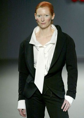 Actor Tilda Swinton